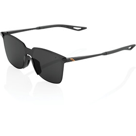 100% Legere UltraCarbon Square Lunettes, polished black/smoke